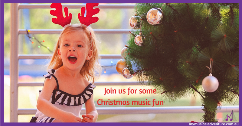 Christmas Children Music Class